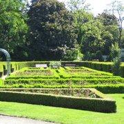 Der Rosengarten - sehr beschaulich.