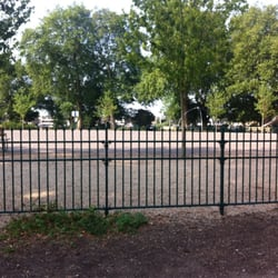 Central open space near children's play…