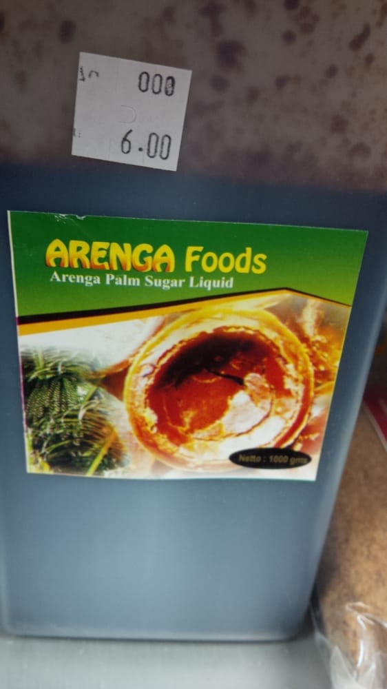 Arenga Palm sugar liquid, great to make thick caramel for apples ...