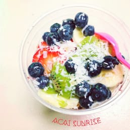 Large Acai Sunrise! ($8.5)