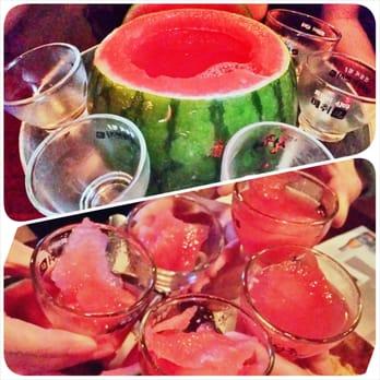 watermelon soju cocktail watermelon soju recipe korean cocktails soju ...