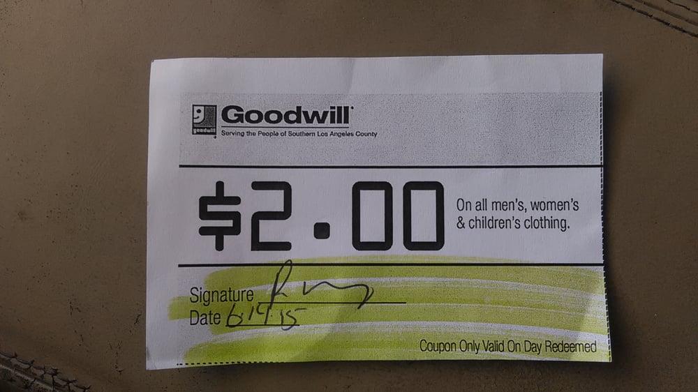 Goodwill manasota coupons