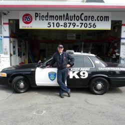 Piedmont Auto Care - Oakland, CA, États-Unis. Keeping the Good Guys on the road.
