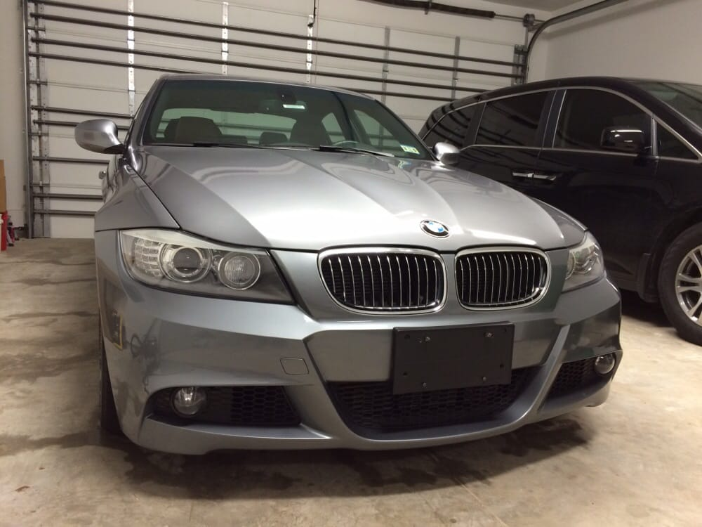 Got the front bumper fixed at elite collision on my bmw for South motors bmw collision center