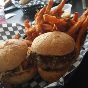 Slider Revolution - Toronto, ON, Canada. 2 sliders and sweet potato fries