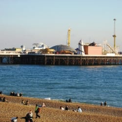 Brighton Palace Pier from Hove