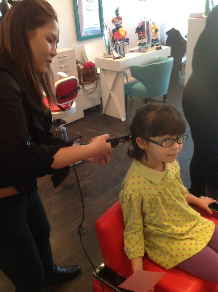 lilies spikes kids teens hair salon park