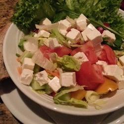 Der große gem. Salat mit Hirtenkäse