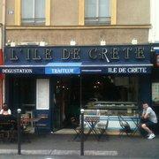 L'Ile de Crête, Paris