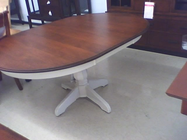 My Canadel dining table with leaf