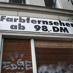 Farbfernseher, Berlin, Germany