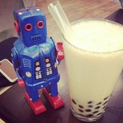 Robot and bubble tea