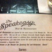 The Speakeasy Bar and Restaurant - Luray, VA, États-Unis
