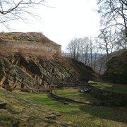das Freilichttheater im Burggraben
