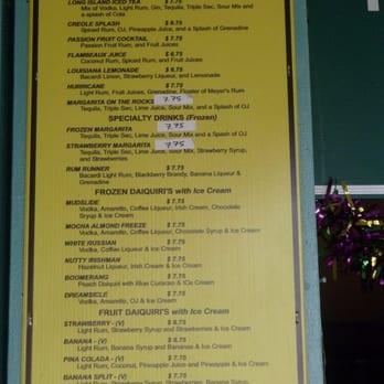 Gazebo Cafe New Orleans Menu