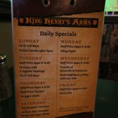 King Henry's Arms - Richmond Hill, ON, Canada. Different Special Everyday