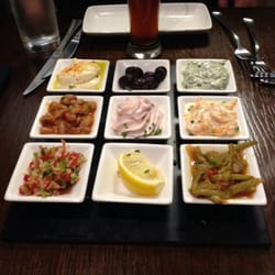 Lux Meze (for two, served with pitta…