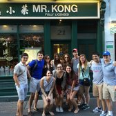 The group right after Mr. Kong