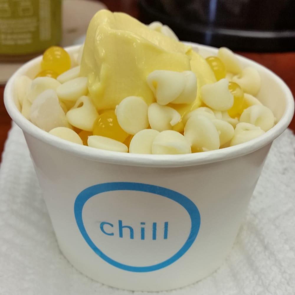 Chill frozen yogurt coupons