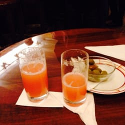 Bellini drink.