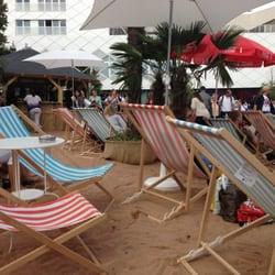 Beach Feeling vor den Pasing Arcaden ...…