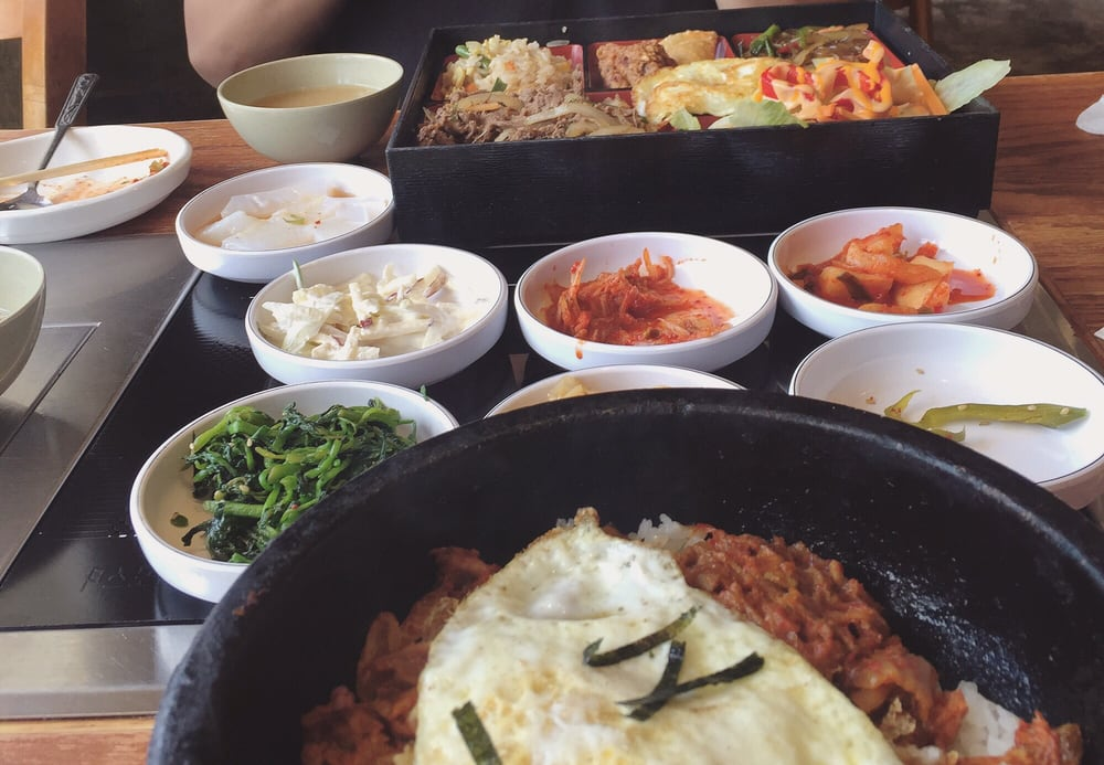 Korean Garden Restaurant 107 Foton Koreansk Mat Allston Brighton Allston Ma Usa