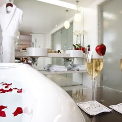 Suite panoramique salle de bain