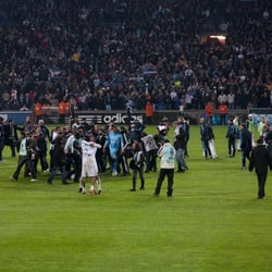 Le titre 2010, match contre Rennes.
