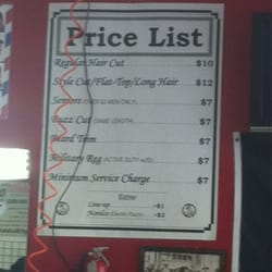 One Stop Barber Shop - Prices - Oceanside, CA, United States