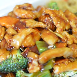 China Kitchen   Madison, WI, United States. Chicken W Garlic Sauce ^^