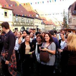 Weinfest, Zeil, Bayern
