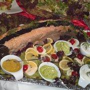 Salmone al Forno con Caviale