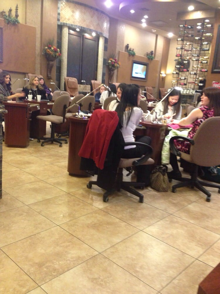 Grand nail spa nail salons southlake tx reviews for A q nail salon
