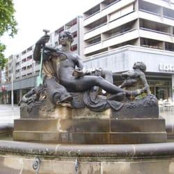 Nymphenbrunnen, Dresden, Sachsen