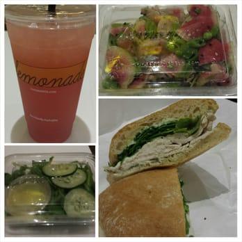 Watermelon Rosemary lemonade, watermelon ahi tuna salad, Chicken Herb ...