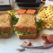 Chick-fil-A - Schaumburg, IL, États-Unis. Chicken Salad Sandwich