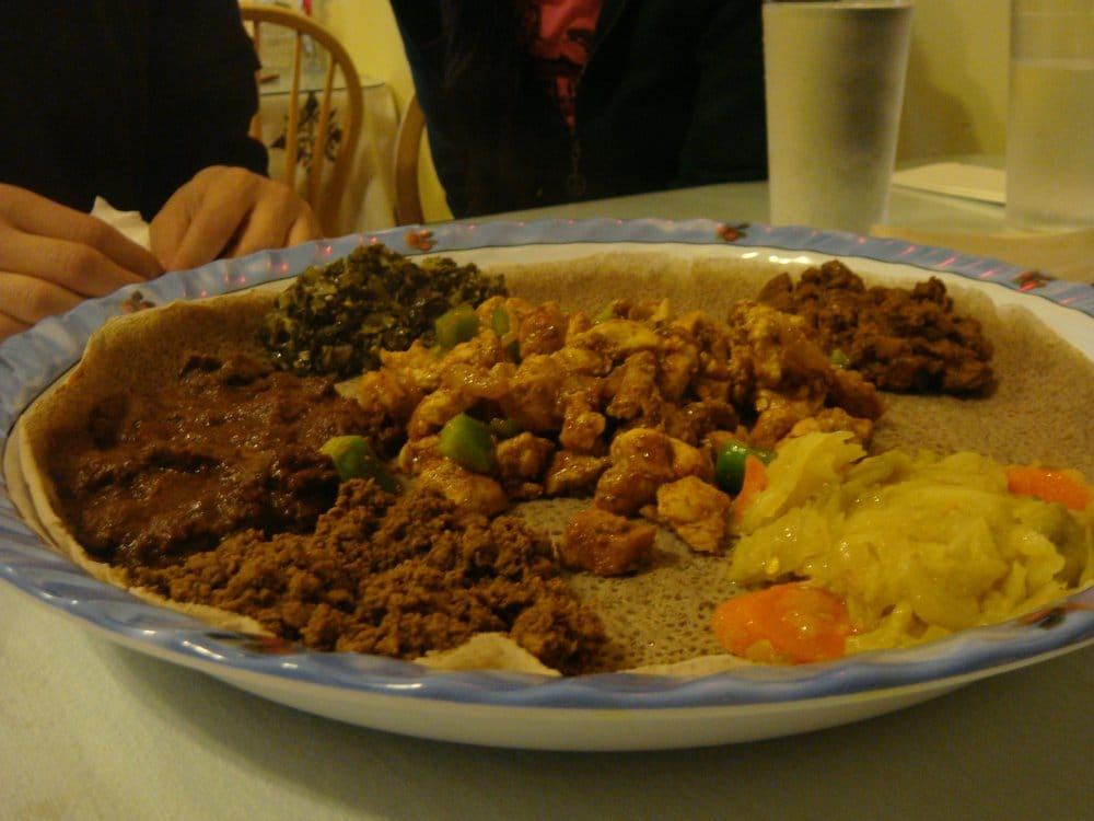 Assorted platter nice yelp for Assimba ethiopian cuisine seattle wa
