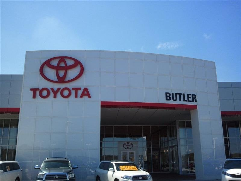 Butler Toyota Tent Sale Event