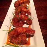 Redstone American Grill - Jumbo shrimp appetizer - Plymouth Meeting, PA, Vereinigte Staaten