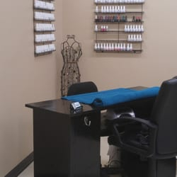 Tucson, AZ, United States. Manicure Station with over 200 gel colors
