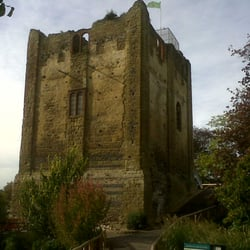 Guildford Castle, Guildford, Surrey, UK