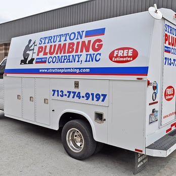 Strutton plumbing company plumbing sharpstown for Plumber 77080