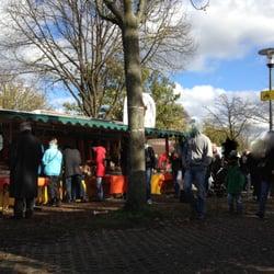 Messe Düsseldorf Messeparkplatz P1 Trödel, Düsseldorf, Nordrhein-Westfalen