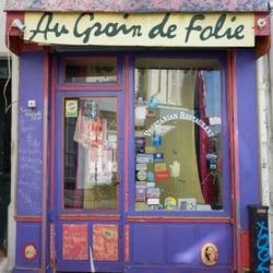 Au Grain de Folie, Paris, France