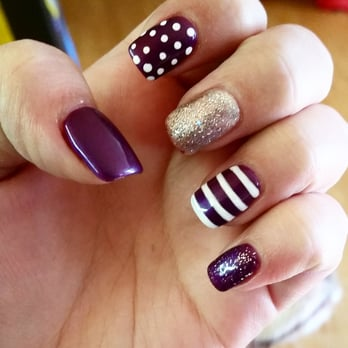 Cozy Nails & Spa - Tigard, OR, United States. Shellac over solar nails