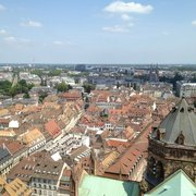 View from up the cathedral spire :-)