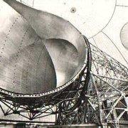 L'antenne-cornet située sous le Radôme…