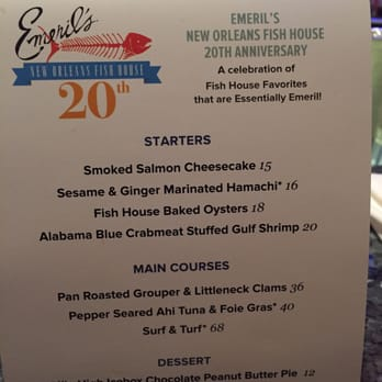 Emeril s new orleans fish house 627 photos american for Emerils fish house