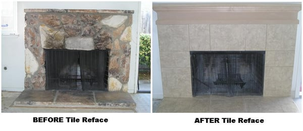 Fireplace Reface Before And After Yelp