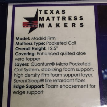 Texas Mattress Makers 25 s & 65 Reviews